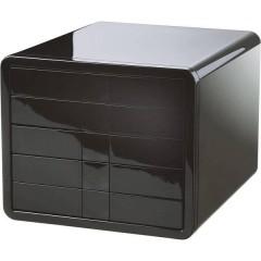 i-Box Cassettiera Nero DIN A4, DIN C4 Numero cassetti: 5