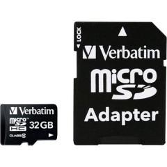 MICRO SDHC 32GB CL 10 ADAP Scheda microSDHC 32 GB Class 10 incl. Adattatore SD