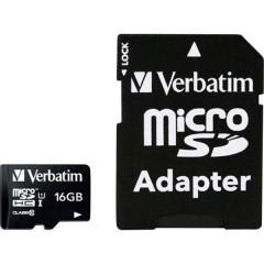 MICRO SDHC 16GB CL 10 ADAP Scheda microSDHC 16 GB Class 10 incl. Adattatore SD