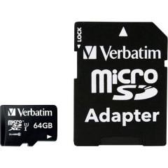 MICRO SDXC 64GB CL 10 ADAP Scheda microSDXC 64 GB Class 10 incl. Adattatore SD