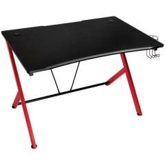 D12 Tavolo da gioco Nero/Rosso