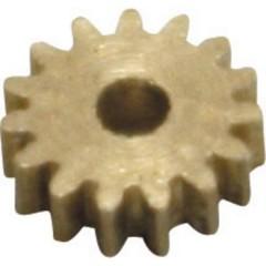 Ottone Micro ingranaggio Modulo 0.2 Ingranaggi elicoidali 1 pz.