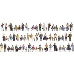 Mega confezione personaggi scala N