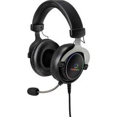 RF-GH-300 Cuffia Headset per Gaming USB Filo Cuffia Over Ear Nero