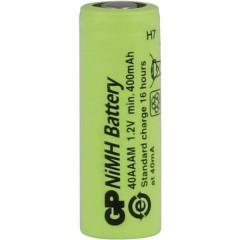 GP40AAAM Batteria ricaricabile speciale 2/3 AAA Flat Top NiMH 1.2 V 400 mAh