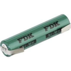 HRAAAU-LFU Batteria ricaricabile speciale Ministilo (AAA) linguette a saldare a U NiMH 1.2 V 730 mAh