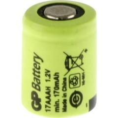 GP17AAAH Batteria ricaricabile speciale 1/3 AAA Flat Top NiMH 1.2 V 170 mAh