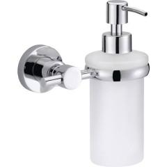 LOXX Distributore di sapone 200 ml Cromo (lucido), Bianco (raso)