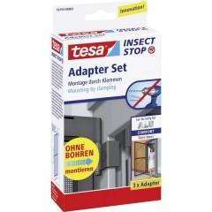Adapter Alu Comfort Kit adattatori zanzariera Adatto per Tesa Zanzariera Tesa 3 pz.