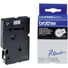 Cassetta nastro TC TC-291 Colore Nastro: Bianco Colore carattere:Nero 9 mm 7.7 m