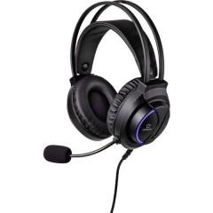 RF-GHD-200 Cuffia Headset per Gaming Jack 3,5 mm Filo Cuffia Over Ear Nero