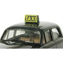 Immagine taxischild H0 con illuminazione a LED Modello pronto, già assemblato