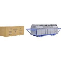 H0Contenitore di colata e scatola di legno