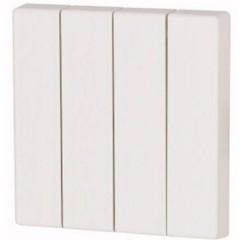 CWIZ-04/01 xComfort 4 canali Pulsante a bilanciere Bianco puro
