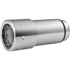 Automative Stainless LED (monocolore) Mini torcia elettrica a batteria ricaricabile 80 lm 52 g