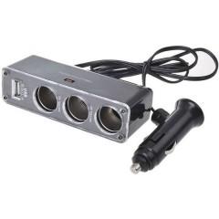 Distributore accendisigari Numero di accendisigari 3 x Interfacce: USB 1 x