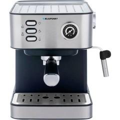 Macchina caffè a filtri Acciaio, Nero Con ugello schiumalatte, con scalda tazze