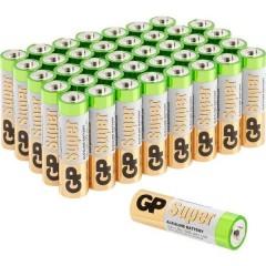 Super Batteria Stilo (AA) Alcalina/manganese 1.5 V 40 pz.