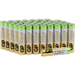 Super Batteria Ministilo (AAA) Alcalina/manganese 1.5 V 40 pz.