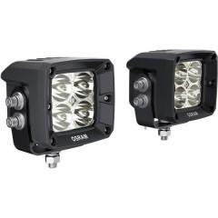 Faro da lavoro 12 V, 24 V LEDriving® CUBE VX80-SP Luce a fascio largo (L x L x A) 85 x 80 x 70 mm