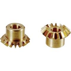 Coppia conica in ottone Tipo di modulo: 0.75 Numero di denti: 30, 30 1 Paio/a