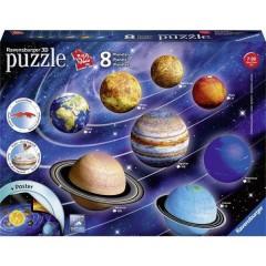 Puzzle 3D - Il sistema planetario
