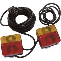 Kit illuminazione per rimorchio 7 poli Luce di direzione, Luce di stop, Luce di segnalazione posteriore