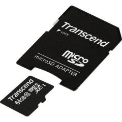 Premium Scheda microSDXC 64 GB Class 10, UHS-I incl. Adattatore SD