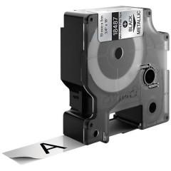 Cassetta nastro IND RHINO 18762 Poliestere Colore Nastro: Metallico Colore carattere:Nero 19 mm 5.5 m
