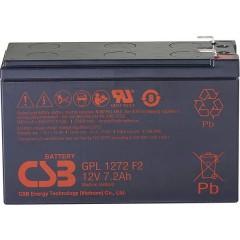GPL 1272 Batteria al piombo 12 V 7.2 Ah Piombo-AGM (L x A x P) 151 x 98 x 65 mm Spina piatta