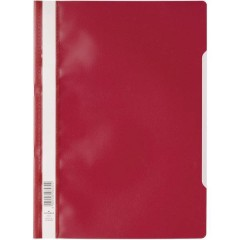 2573 Cartellina con fermaglio Rosso DIN A4