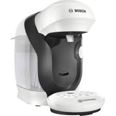 Style Bianco, Nero Macchina per caffè con capsule One Touch, regolabile in altezza