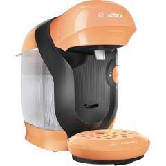 Style Arancione Macchina per caffè con capsule One Touch, regolabile in altezza