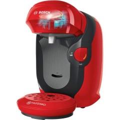 Style Rosso Macchina per caffè con capsule One Touch, regolabile in altezza