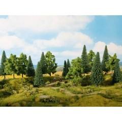 Kit alberi bosco misto 80 fino a 140 mm 13 pz.