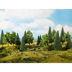 Kit alberi bosco misto 140 fino a 160 mm 6 pz.