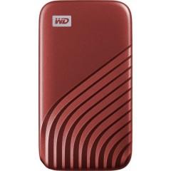 My Passport 1 TB Memoria SSD esterna 2,5 USB-C™ Rosso BAGF0010BRD-WESN