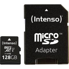 Premium Scheda microSDXC 128 GB Class 10, UHS-I incl. Adattatore SD