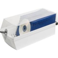 Contenitore per CD 60 CD/DVD/Blu-ray Plastica, Polistirolo Grigio luminescente 1 pz. (L x A x P) 168 x 150 x 365 mm