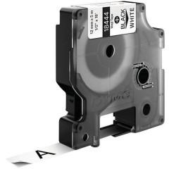 Cassetta nastro IND RHINO 18444 Vinile Colore Nastro: Bianco Colore carattere:Nero 12 mm 5.5 m