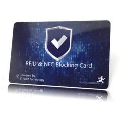 Scheda RFID NFC Blocker Card 1 pz. Blu
