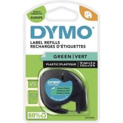 LT Cassetta nastro Colore Nastro: Verde Colore carattere: Nero 12 mm 4 m