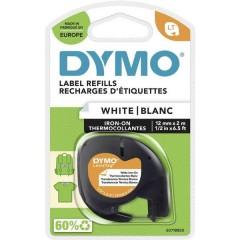 LT Cassetta nastro Colore Nastro: Bianco Colore carattere: Nero 12 mm 2 m