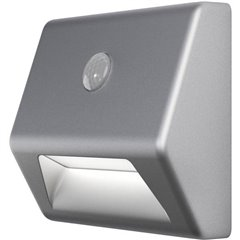 NIGHTLUX® Stair L Luce notturna LED con sensore di movimento Rettangolare LED (monocolore) Bianco