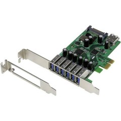 6+1 Porta Scheda controller USB 3.0 USB-A PCIe