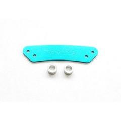 Parte di ricambio Supporto paraurti alluminio TT-01
