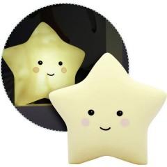 lumilu Sweet Dreams - star Lampada notturna stella Bianco caldo Giallo