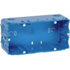 Scatola da incasso 142 mm Blu