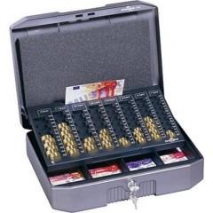 Cassetta portavalori (L x A x P) 352 x 120 x 276 mm Antracite