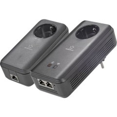 PL1200D WiFi Powerline WLAN Starter Kit 1.2 GBit/s